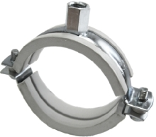 SLIDING PIPE CLAMP ONE-SCREW AND TWO-SCREW