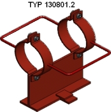 AXIAL SLIDING SUPPORT TYPE 130801.2